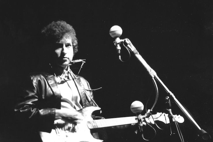 Bob Dylan at Newport 1965